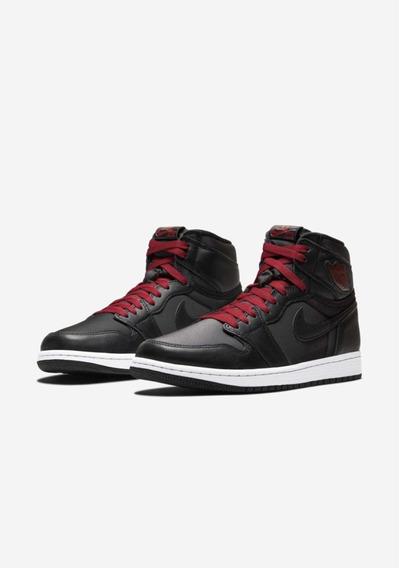 Tênis Air Jordan 1 High Og Black/ Red Pronta Entrega Nike