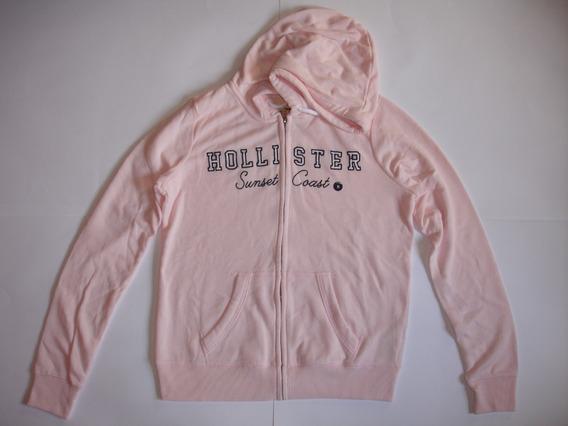 Blusa Moletom Hollister Logo Graphic Hoodie Full Zip