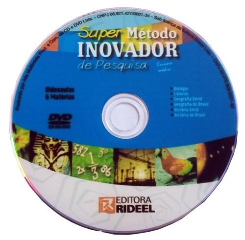 Dvd Original Super Método Inovador De Pesquisa Ensino Médio