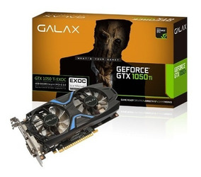 Galax Geforce® Gtx 1050 Ti Exoc 128-bit Ddr5 4gb