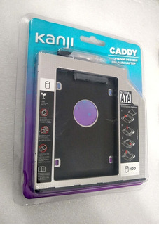 Caddy Carry Segundo Disco Notebook Hdd Sata O Ssd Solido New