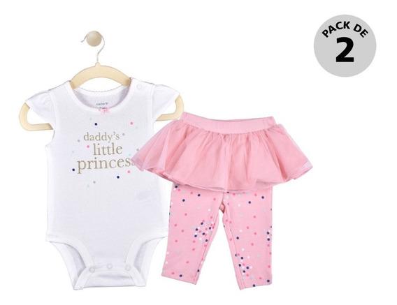 Set 2 Pzas Pañalero Y Pants Carters Multicolor Niña 15952810