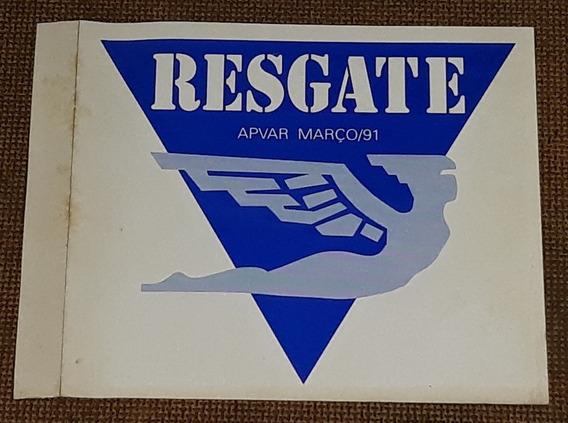 Varig Apvar Resgate - Adesivo Raro