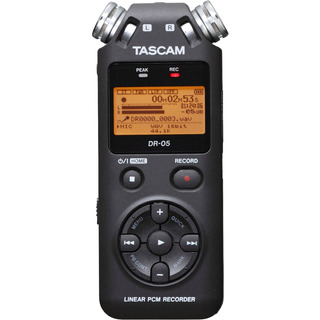 Grabadora Tascam Dr05 Portatil Portatil Mano Profesional Sd