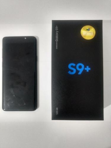 Galaxy S9 Plus G9650 128gb (tela Esverdeada)leia A Descrição