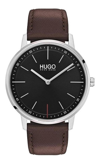Reloj Hugo By Hugo Boss Unisex Color Café 1520014 - S007