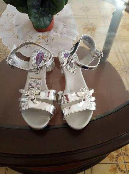 Zapatillas De Princesa De Niña Talla 27