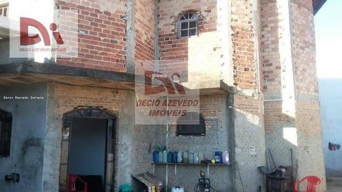 Imagem 1 de 3 de Sobrado Com 3 Dormitórios À Venda Por R$ 370.000,00 - Parque Senhor Do Bonfim - Taubaté/sp - So0007