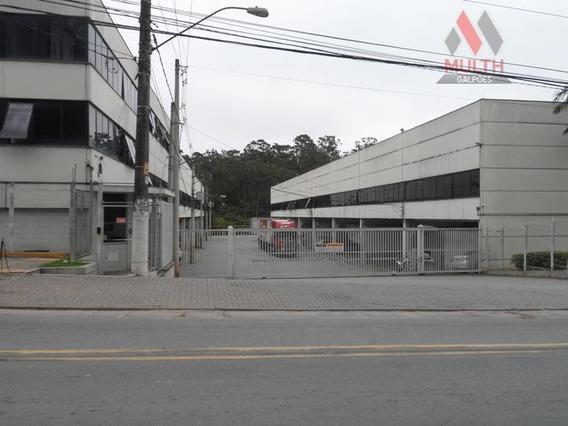 Galpão Industrial Para Locação, Jardim Da Glória, Cotia. - Ga0083