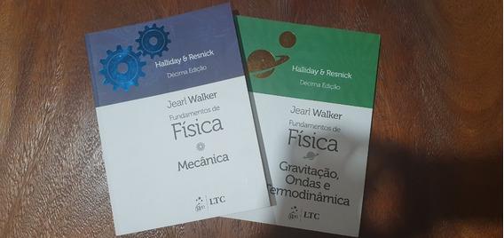 Fundamentos Da Física - Volumes 1 E 2 - Edição: 10