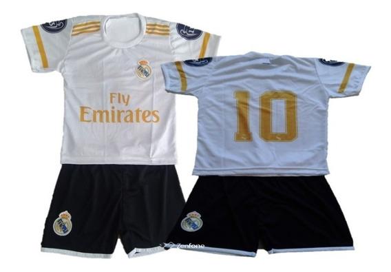 Conjunto Infantil Times Real Madrid Europa