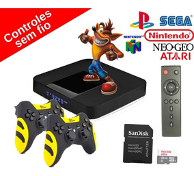 Video Game Retro Smart Emulador C/ 2 Controles Sem Fio