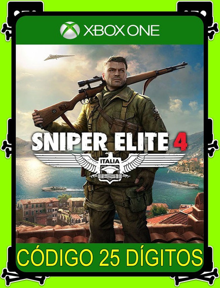 Sniper Elite 4 Xbox One - 100% Original (25 Dígitos)