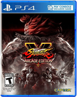 Street Fighter V Arcade Edition / Juego Físico / Ps4