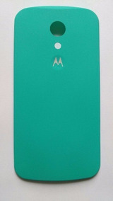 Kit 10 Tampa Traseira Verde Piscina Motorola Moto G2