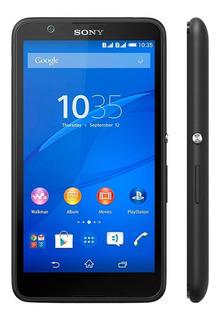 Smartphone E4 Sony, Dual Chip, Memória 8gb, Câmera 5mp, Android 4.4, Preto - E2124