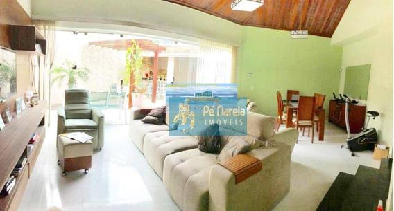 Sobrado Com 3 Dormitórios À Venda, 220 M² Por R$ 900.000 - Canto Do Forte - Praia Grande/sp - So0009
