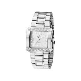 Relógio Feminino Champion Passion Quadrado Prata Ch24133q