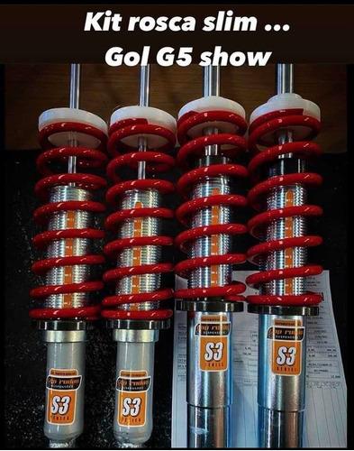 Imagem 1 de 5 de Kit Suspensão Rosca Gol G5