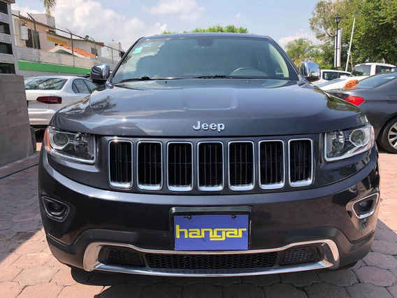 Jeep Grand Cherokee Limited V6 Automatica Gris 2014, Hangar