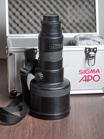Lente Sigma Apo 500mm F/4.5 Af Para Nikon