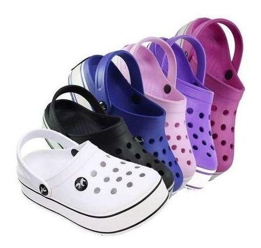 Babuche Kemo Iate Plataforma Calçado Sapato Confortável Top