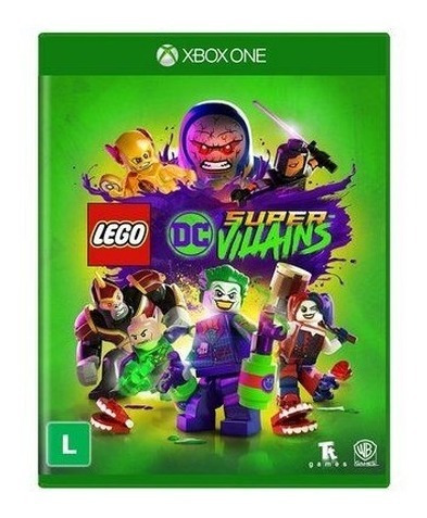 Lego Dc Super Villains - Midia Fisica Xbox One Em Português