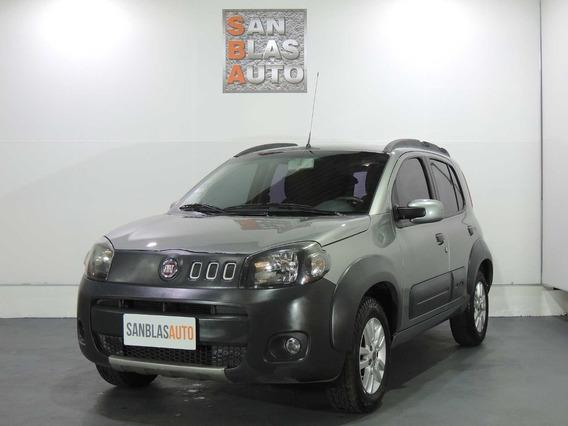 Fiat Uno Way 2011 5 Puertas 1.4 N Dh Aa Ab Abs San Blas Auto
