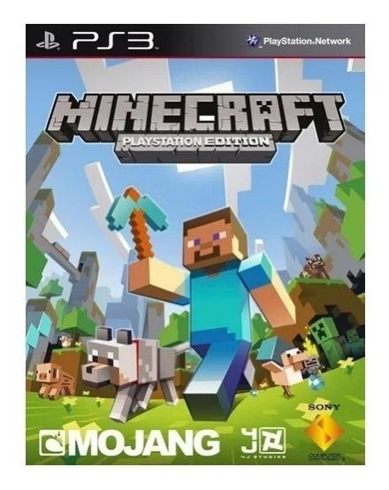 Minecraft Ps3 Português Play3 Jogo Comprar