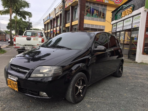 Chevrolet Aveo Five Negro 1600cc