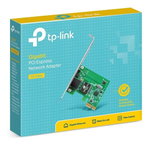 Rede Pci Express Tp-link Tg-3468 Gigabit 10/100/1000 + Nfe