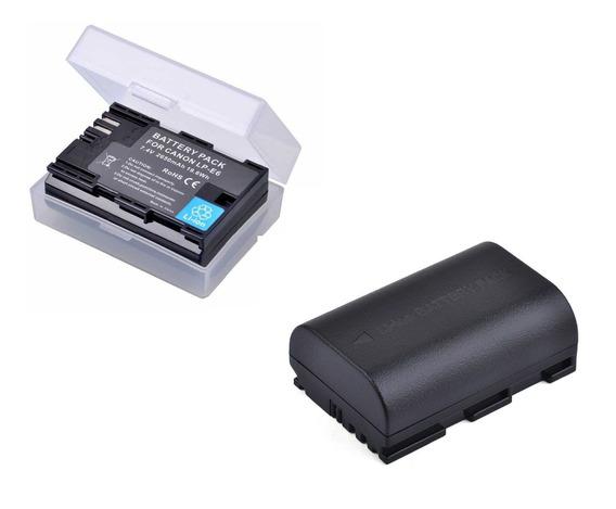 Bateria Lpe6 2650mah Canon Eos 5d 5d2 7d 7d2 6d 70d 80d 60d