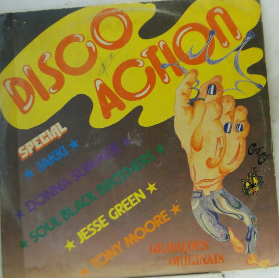 Lp Disco Action - De073