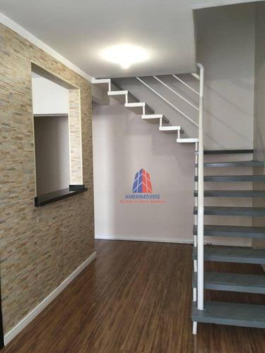 Imagem 1 de 25 de Cobertura Com 2 Dormitórios À Venda, 112 M² Por R$ 370.000,00 - Vila Belvedere - Americana/sp - Co0009