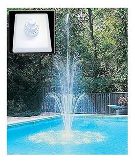 Fuente Flotante Aqua Splash Albercas Y Pequeños Estanques