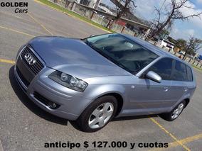 Audi A3 2.0 Tdi 2006 Caja Dsg $ 127.000 Y Cuotas