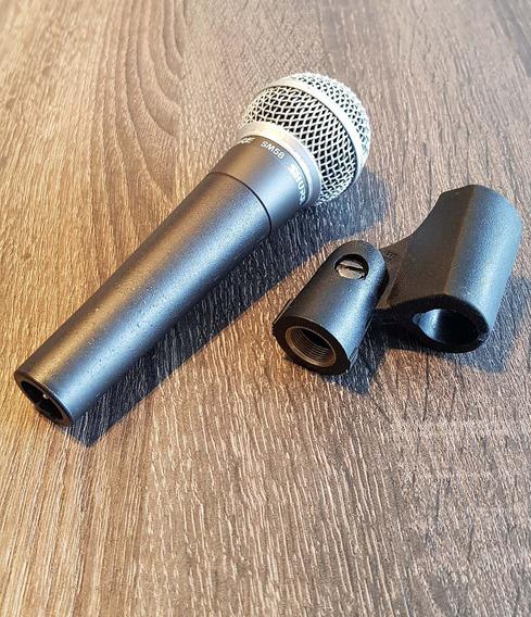 Microfone Shure Sm58 Original, Com Estojo Incluso