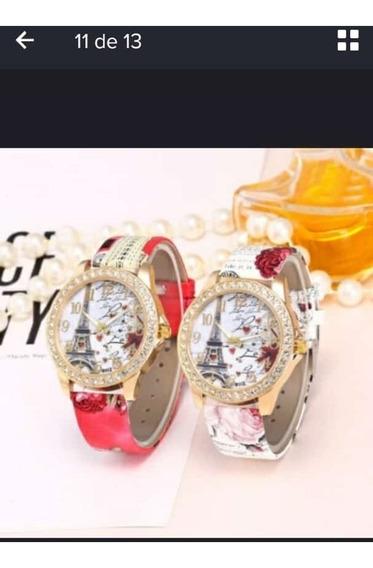 2 Relógio Paris Feminino