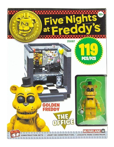 Five Nights At Freddy The Office Mcfarlane Toys 119 Pcs Gold