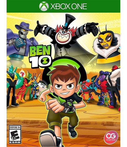 Ben 10 Xbox One Midia Fisica Lacrado Original