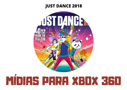 Just Dance 2018 - Xbox 360 - Mídia Digital
