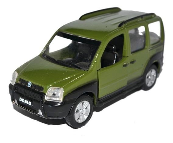 Miniatura Fiat Doblo Adventure 1:32 Carros Brasil