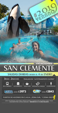 Paquetes Verano 2019 - San Clemente Enero 2019 - $ 3980