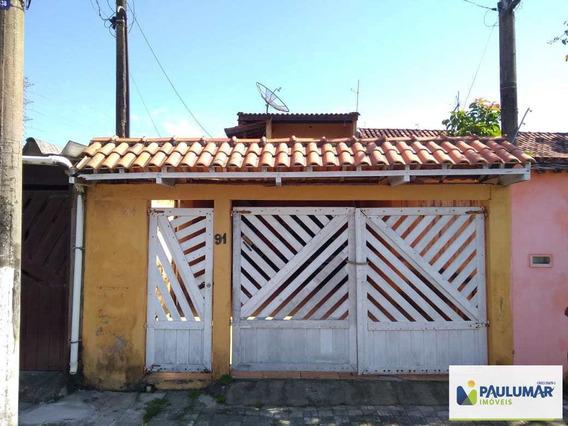 Sobrado Com 3 Dorms, Balneário Itaóca, Mongaguá - R$ 270 Mil, Cod: 829476 - V829476