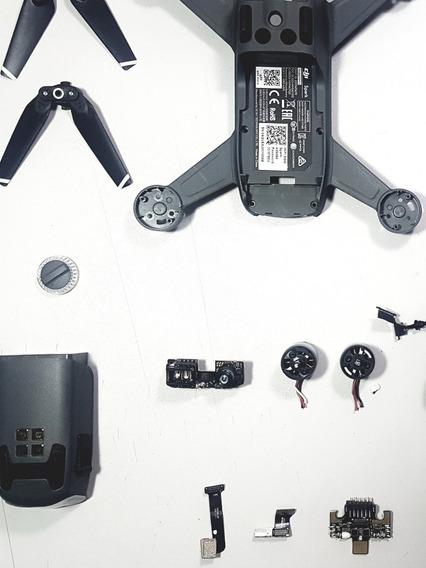 Peças Dji Spark,placa,gps,motor,wifi,esc,imu,gimbal,camera