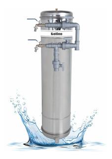 Filtro Central Água Potável Em Inox Residencial E Industrial