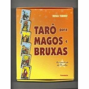 Tarô Para Magos E Bruxas - Acomp. 78 Cartas - Terhef, Rena.