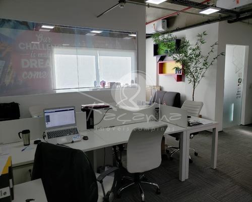 Imagem 1 de 19 de Sala Dupla Para Venda No Easy Office Em Campinas - Sa00214 - 68112950