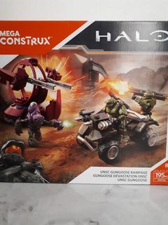 Halo Mega Construx Unsc Gungoose Rampage 195 Pcs
