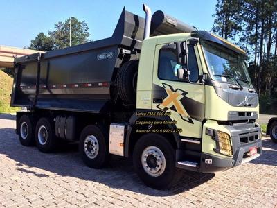 Volvo Fmx-500 Na Caçamba Minério Da Librelato Bi-truck 8x4
